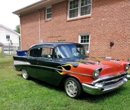 1957 Chevrolet Bel Air for sale at Haggle Me Classics in Hobart IN