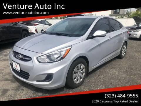 2016 Hyundai Accent for sale at Venture Auto Inc in South Gate CA