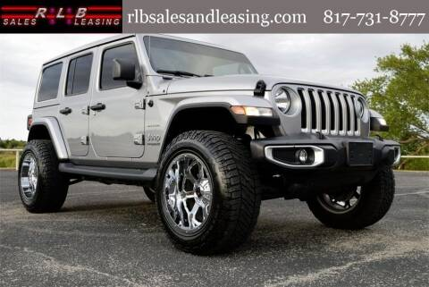 2020 Jeep Wrangler Unlimited for sale at RLB Sales and Leasing in Fort Worth TX