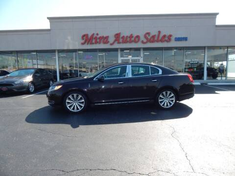 2013 Lincoln MKS for sale at Mira Auto Sales in Dayton OH