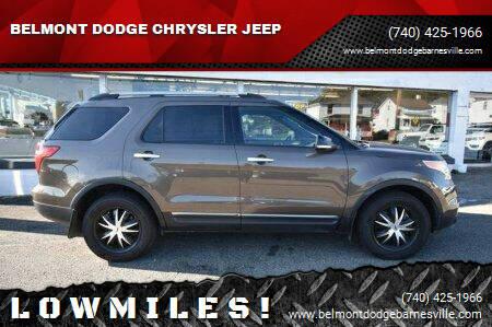 2015 Ford Explorer for sale at BELMONT DODGE CHRYSLER JEEP in Barnesville OH