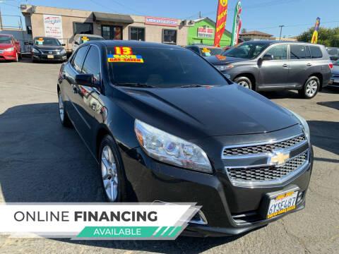 2013 Chevrolet Malibu for sale at Super Cars Sales Inc #1 - Super Auto Sales Inc #2 in Modesto CA