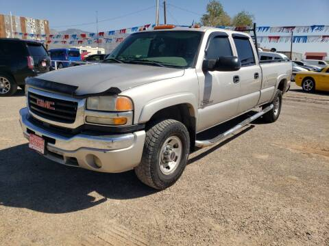 2005 GMC Sierra 3500 for sale at Bickham Used Cars in Alamogordo NM