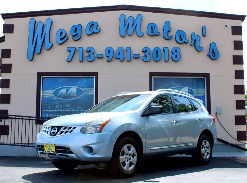 2015 Nissan Rogue Select for sale at MEGA MOTORS in South Houston TX