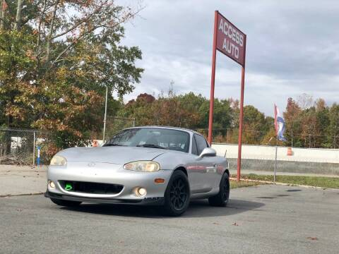 2004 Mazda MX-5 Miata for sale at Access Auto in Cabot AR