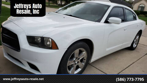 2012 Dodge Charger for sale at Jeffreys Auto Resale, Inc in Clinton Township MI