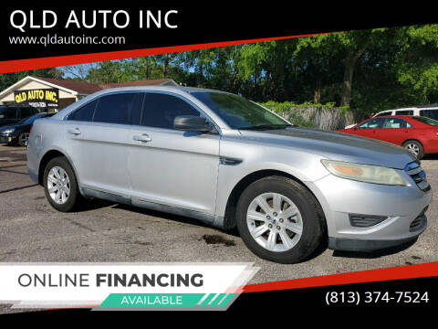 2010 Ford Taurus for sale at QLD AUTO INC in Tampa FL