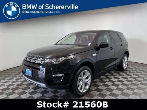 2017 Land Rover Discovery Sport for sale at BMW of Schererville in Schererville IN