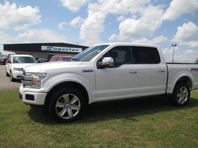 2018 Ford F-150 for sale at SUPERIOR CHRYSLER DODGE JEEP RAM FIAT in Henderson NC