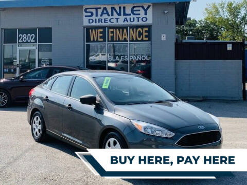 2017 Ford Focus for sale at Stanley Direct Auto in Mesquite TX