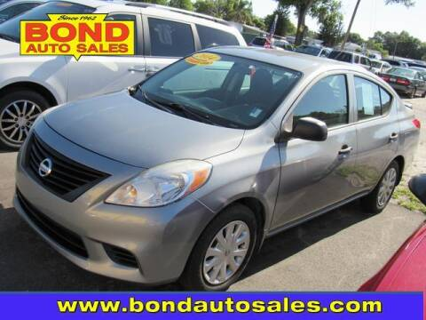 2014 Nissan Versa for sale at Bond Auto Sales in St Petersburg FL