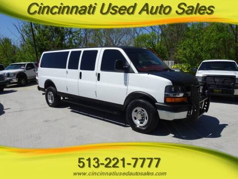 2016 Chevrolet Express Passenger for sale at Cincinnati Used Auto Sales in Cincinnati OH