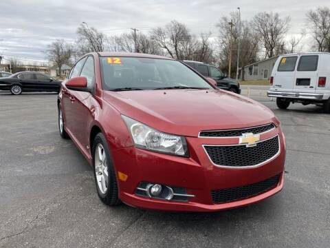 2012 Chevrolet Cruze for sale at Kansas City Motors in Kansas City MO