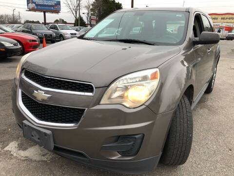 2010 Chevrolet Equinox for sale at Atlantic Auto Sales in Garner NC