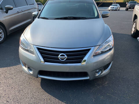 2013 Nissan Sentra for sale at Todd Nolley Auto Sales in Campbellsville KY