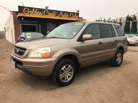 2003 Honda Pilot for sale at Golden Coast Auto Sales in Guadalupe CA