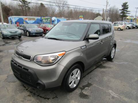 2016 Kia Soul for sale at Route 12 Auto Sales in Leominster MA