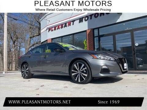 2021 Nissan Altima for sale at Pleasant Motors in New Bedford MA