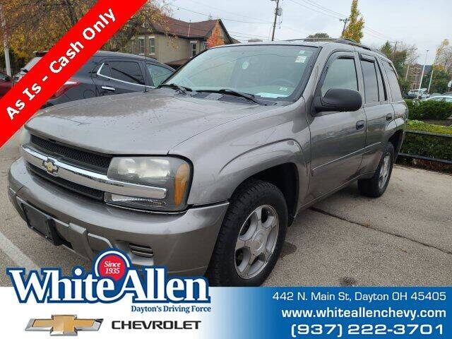 2007 Chevrolet TrailBlazer for sale at WHITE-ALLEN CHEVROLET in Dayton OH