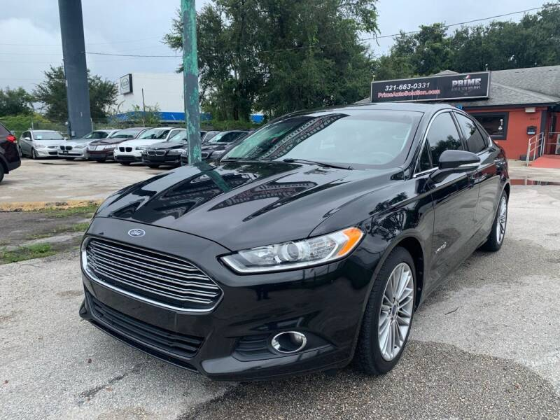 2013 Ford Fusion Hybrid for sale at Prime Auto Solutions in Orlando FL