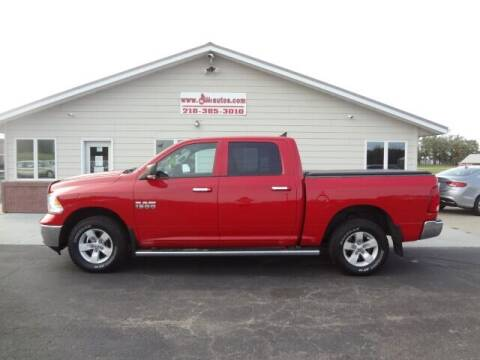 2016 RAM Ram Pickup 1500 for sale at GIBB'S 10 SALES LLC in New York Mills MN