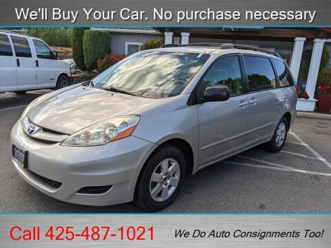 2007 Toyota Sienna for sale at Platinum Autos in Woodinville WA