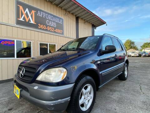 1999 Mercedes-Benz M-Class for sale at M & A Affordable Cars in Vancouver WA