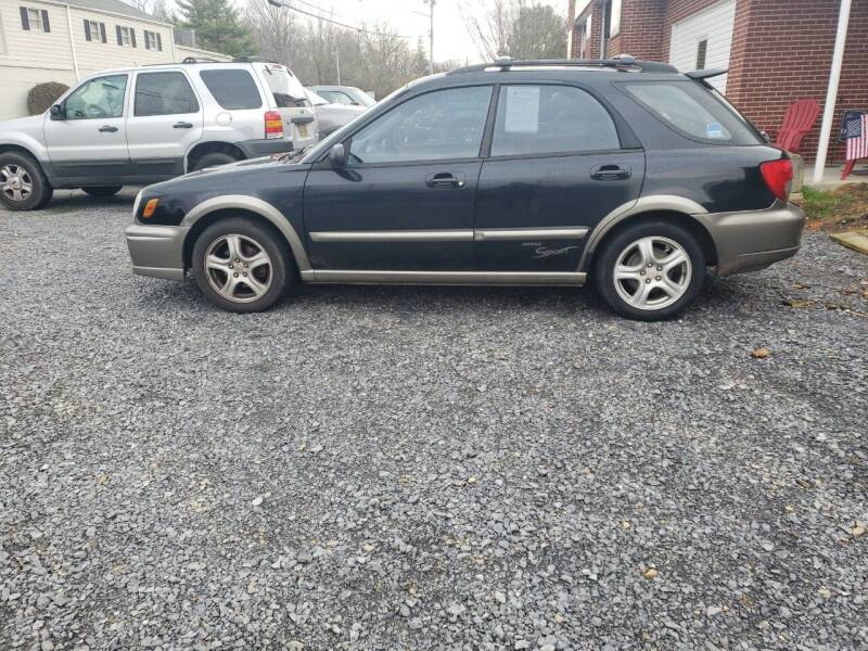 2002 Subaru Impreza for sale at Firehouse Motors LLC in Bristol TN