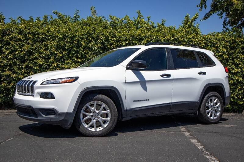 2016 Jeep Cherokee for sale at 605 Auto  Inc. in Bellflower CA