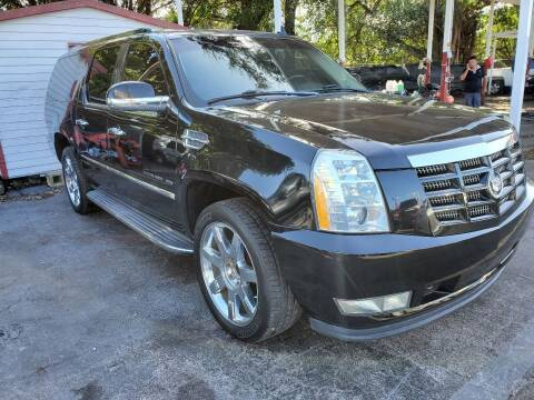 2011 Cadillac Escalade ESV for sale at America Auto Wholesale Inc in Miami FL
