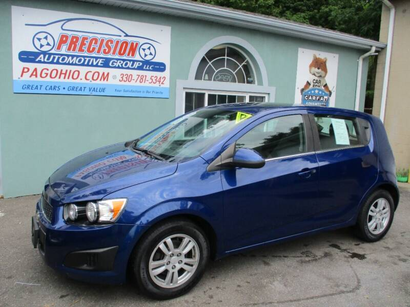 2014 Chevrolet Sonic for sale at Precision Automotive Group in Youngstown OH