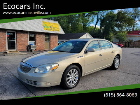 2009 Buick Lucerne for sale at Ecocars Inc. in Nashville TN