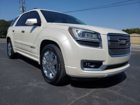2013 GMC Acadia for sale at Thornhill Motor Company in Lake Worth TX