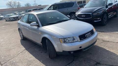 2003 Audi A4 for sale at WEINLE MOTORSPORTS in Cleves OH