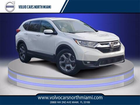 2019 Honda CR-V for sale at Volvo Cars North Miami in Miami FL