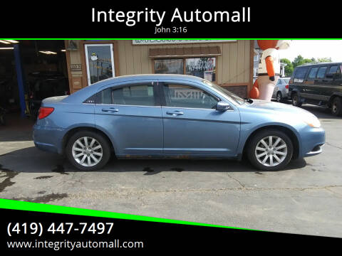 2011 Chrysler 200 for sale at Integrity Automall in Tiffin OH