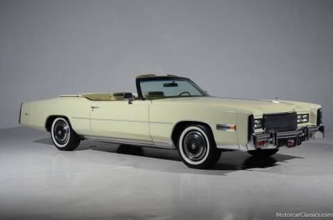 1976 Cadillac Eldorado for sale at Motorcar Classics in Farmingdale NY