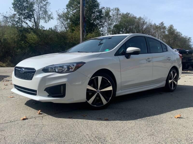2017 Subaru Impreza for sale at Elite Motors in Uniontown PA