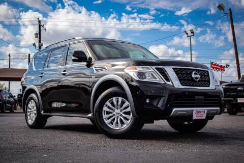 2018 Nissan Armada for sale at Jerrys Auto Sales in San Benito TX