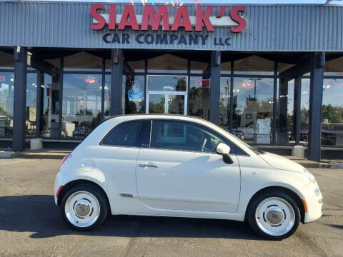 2015 FIAT 500c for sale at Siamak's Car Company llc in Salem OR