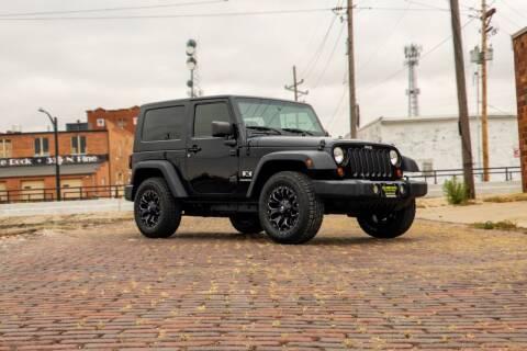 2009 Jeep Wrangler for sale at Island Auto Off-Road & Sport in Grand Island NE