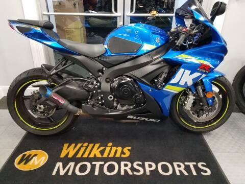 2017 Suzuki GSX-R600 for sale at WILKINS MOTORSPORTS in Brewster NY