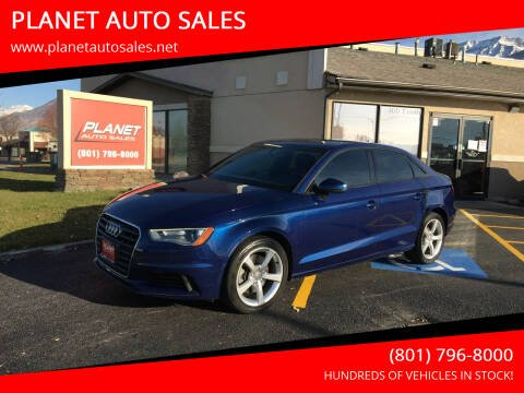 2015 Audi A3 for sale at PLANET AUTO SALES in Lindon UT