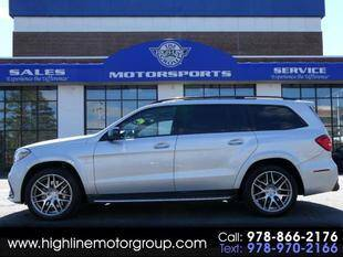 2017 Mercedes-Benz GLS for sale at Highline Group Motorsports in Lowell MA