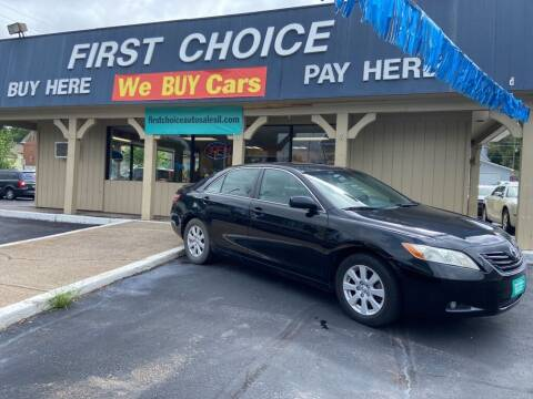 2007 Toyota Camry for sale at First Choice Auto Sales in Rock Island IL