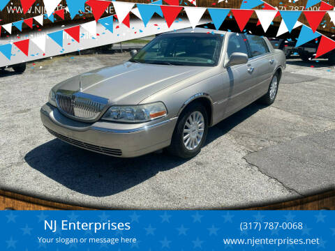 2003 Lincoln Town Car for sale at NJ Enterprises in Indianapolis IN