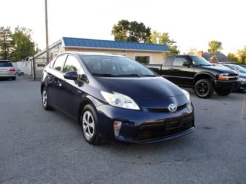 2012 Toyota Prius for sale at Supermax Autos in Strasburg VA