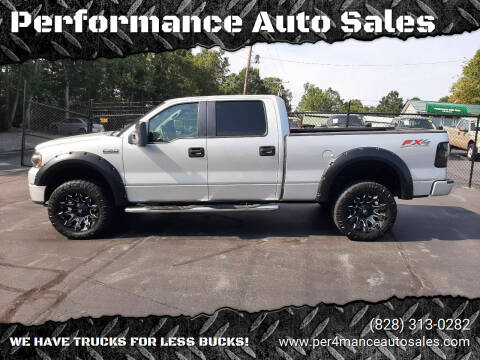 2008 Ford F-150 for sale at Performance Auto Sales in Hickory NC