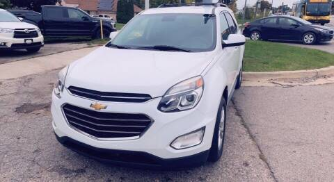 2017 Chevrolet Equinox for sale at One Price Auto in Mount Clemens MI