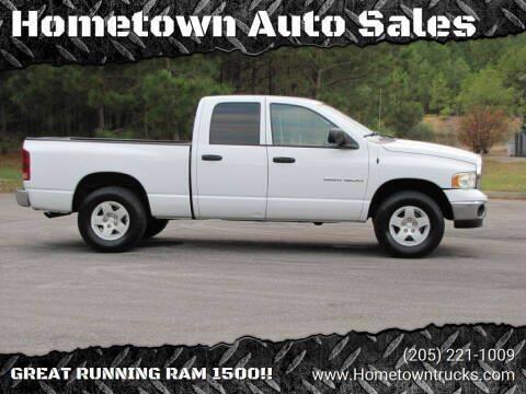 2004 Dodge Ram Pickup 1500 for sale at Hometown Auto Sales - Trucks in Jasper AL